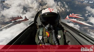 Get on board with the Swiss Air Force PC-7 Team | 360 degree video