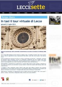 Lecce360 e il progetto TaxiAMO