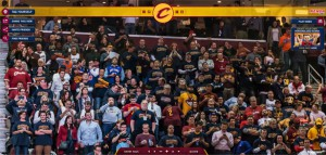 Gigapixels: massive group photo with all the fans for the return of LeBron James into the the Cleveland Cavaliers (NBA team)