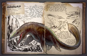 New ARK: Survival Evolved Images Showcase Mosasaurus and Baby Dinos