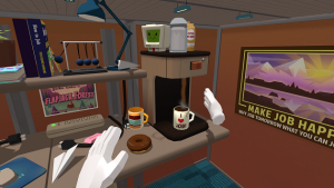 Preview: Job Simulator on Oculus Touch – Office Worker