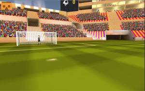 VR Soccer Header for Cardboard