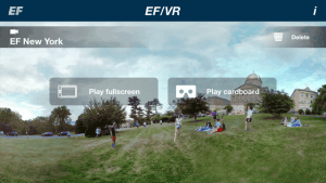 EF/VR ‒ Virtual Reality Tours of the EF International Language Centers