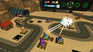 Element Games Releases Evil Robot Traffic Jam Screenshots
