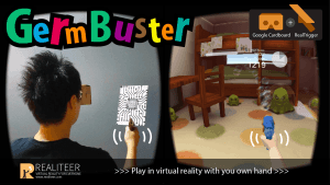 GermBuster VR Google Cardboard