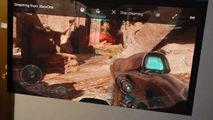 HoloLens Used to Stream Halo 5 from an Xbox One