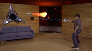 Preview: Project X-Ray on Microsoft HoloLens