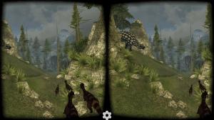 VR Jurassic Coaster