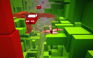 Voxel Fly: VR