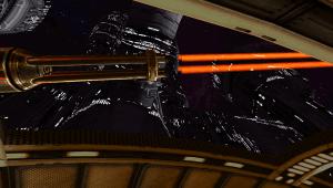 Galaxy VR Cardboard Space FPS