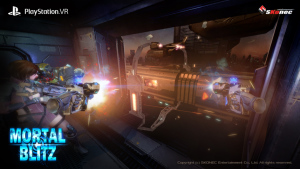 Debut Mortal Blitz PlayStation VR Screenshots Showcase FPS Gaming in VR