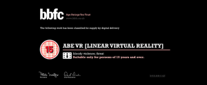 VR Age Classification Needs Speed, Positivity, and a Borderless Standard