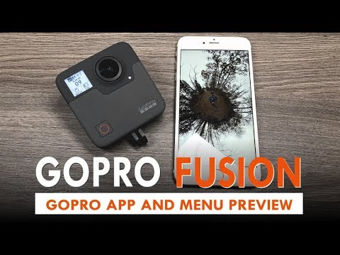 GoPro Fusion Mobile App and Settings | Panoramic & VR world news