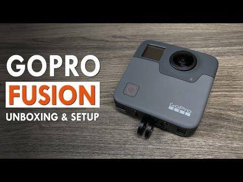 GoPro Fusion Unboxing & Setup | Panoramic & VR world news