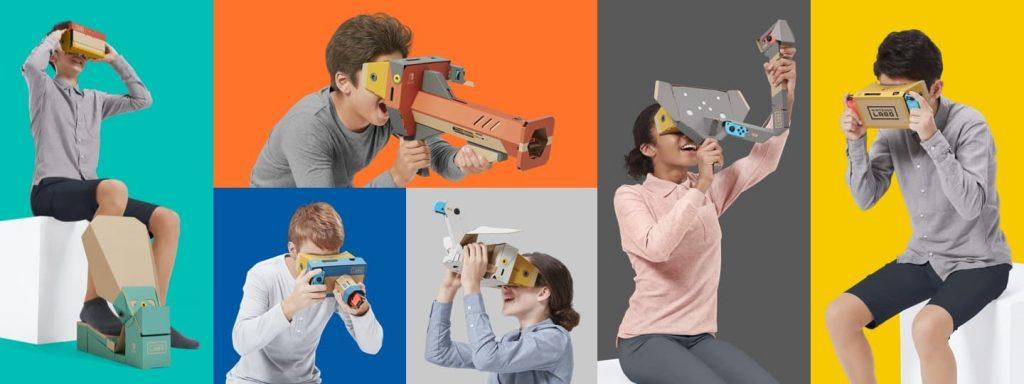 Nintendo Labo VR toys