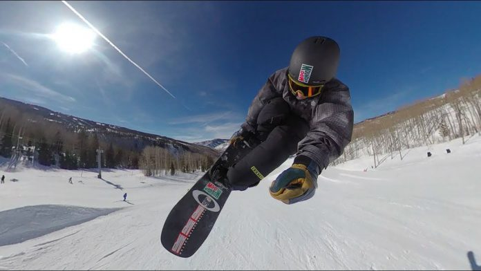 Insta360 One X snowboarding video with champ Red Gerard; how to get 10% off Insta360 One X