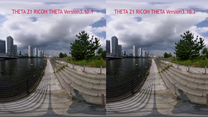 Ricoh Theta Z1 and Theta V update gives DRAMATIC improvement to stabilization; stitching also improved