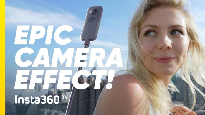 Insta360 launches Insta360 TV vlog; tutorial: how to do a vertical donut shot