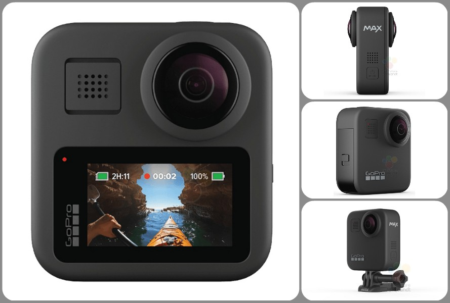 GoPro Max new photos leaked by WinFuture