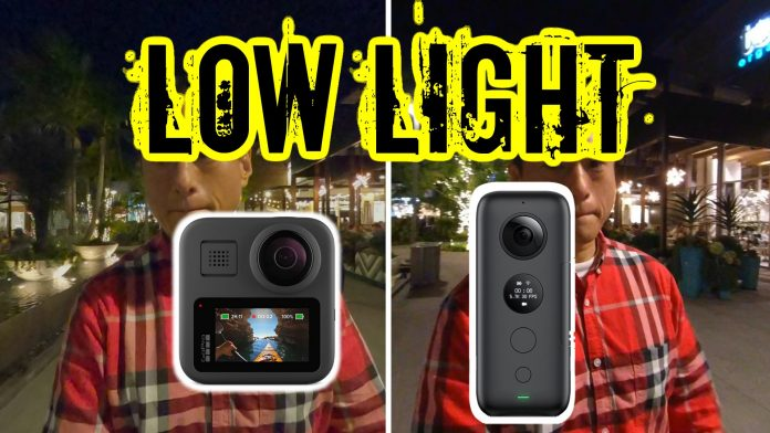 GoPro MAX vs Insta360 One X low light and stabilization comparison posted!