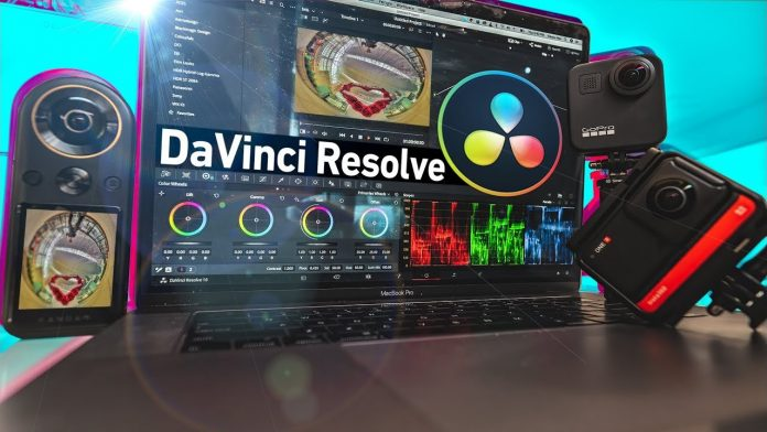 Davinci Resolve 360 video editing tutorial (free 360 video editor)
