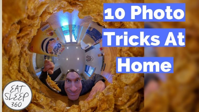 Ten 360 camera photo tricks for Insta360 One X or other 360 cameras