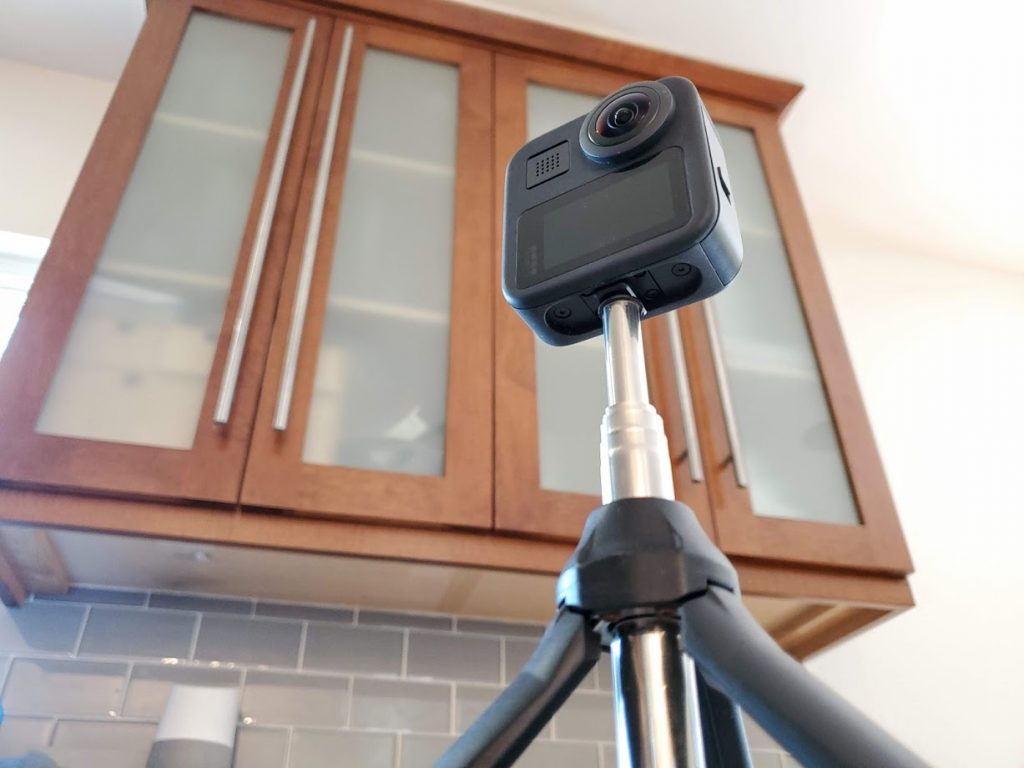 standard tripod hole for GoPro MAX