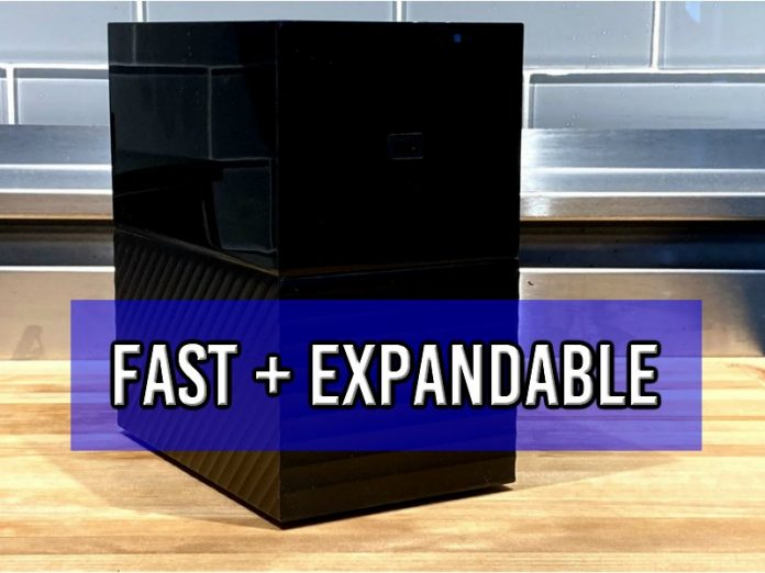 WD My Book Duo review: fast, expandable external hard drive BUT not the best option; plus: how to use RAID (UPDATED)