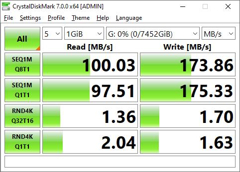 My Book Duo RAID-1 speed