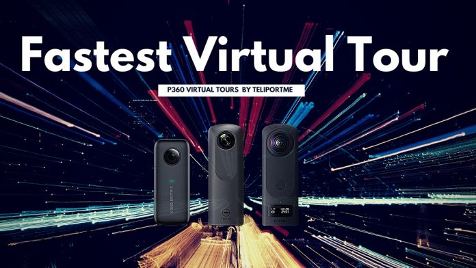 P360 is the fastest virtual tour website