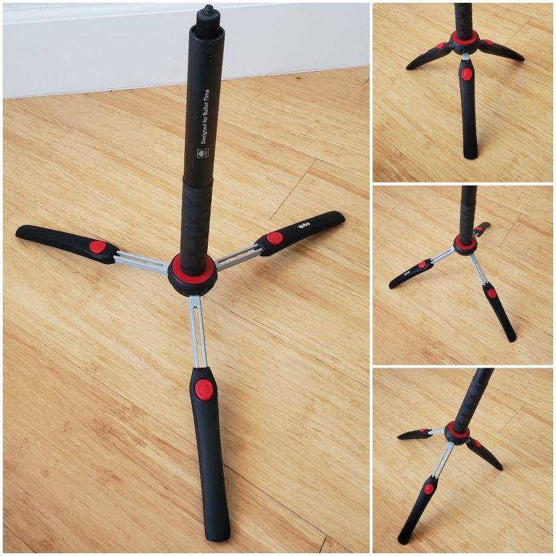 Tripod legs for Insta360 Invisible Selfie Stick