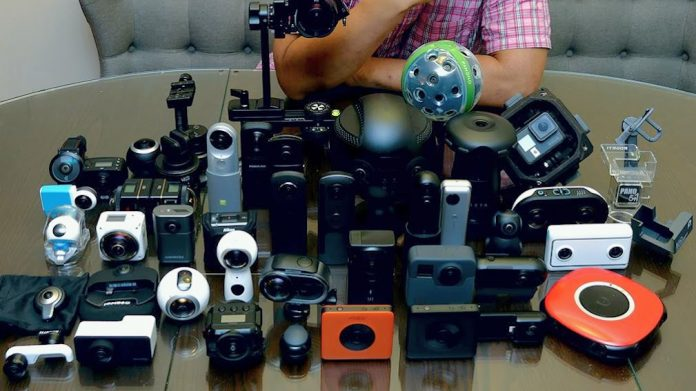 My 360 cameras back in July 2018