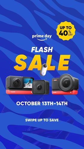 Insta360 Prime Day deals revealed – up to 20% discount, plus how to get EXTRA discount