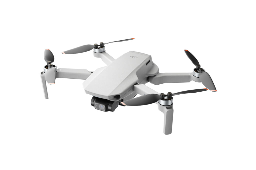 DJI Mini 2 takes aerial 360 photos