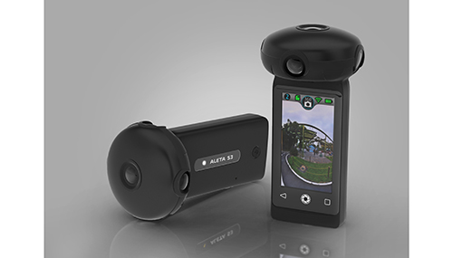 Preview: Ultracker Aleta S3 professional 360 camera takes 15K photos and can live stream in 8K (CES 2021)