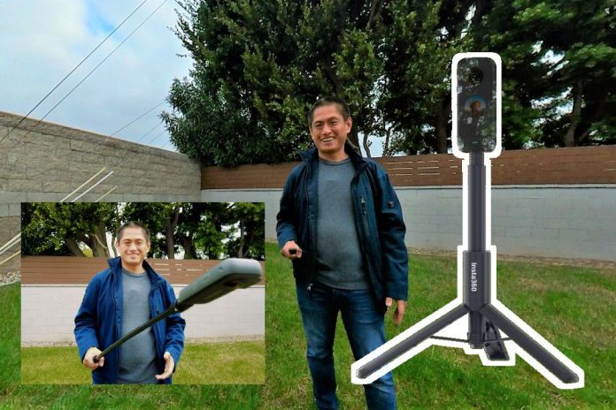Insta360 Selfie Stick Tripod: best selfie stick with built-in tripod