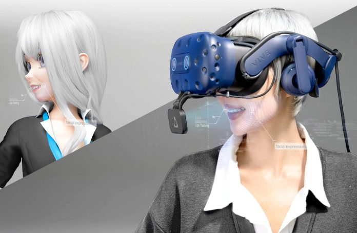 HTC announces Vive Facial Tracker and more compact Tracker 3.0