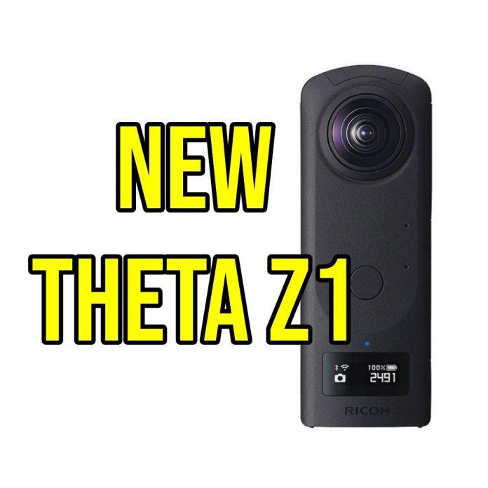 RUMOR: new Ricoh Theta Z1 on March 25
