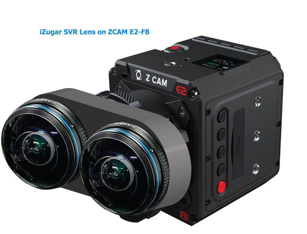 iZugar VR180 lens for ZCam