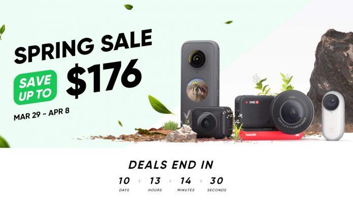 Insta360 Spring Sale 2021 up to $176 discount plus EXCLUSIVE BONUS (1 week only)