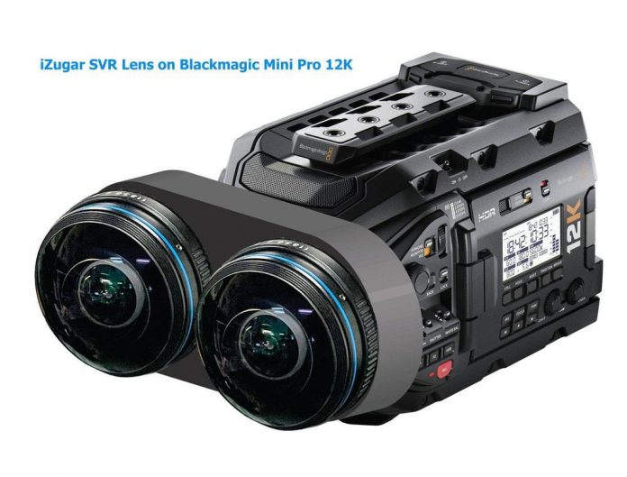 High-resolution 11K 60fps VR180 with iZugar SVR VR180 lens