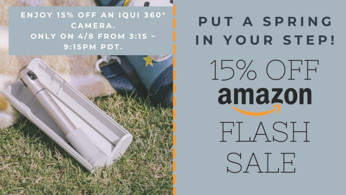IQUI 360 Camera Flash Spring Sale 2021 (One Day Only!)