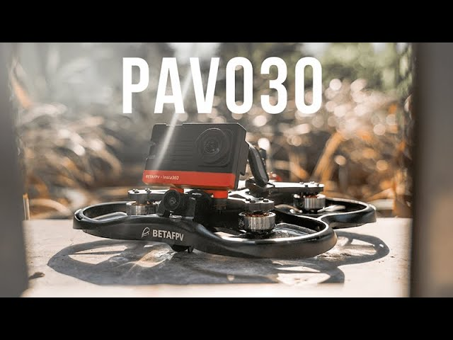 World's smallest 3-inch cinewhoop? Pavo30 has built-in support for Insta360 SMO