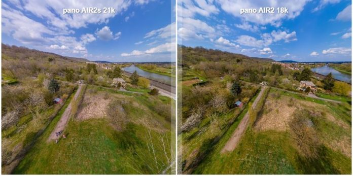 EXCLUSIVE: DJI Air 2S vs Air 2 side-by-side comparison for 360 photos
