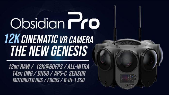 Hands-on report on Kandao Obsidian Pro 12K 360 camera