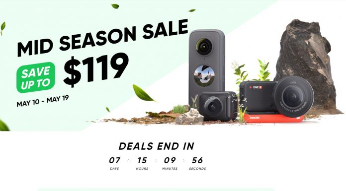 Insta360 Mid-Spring Sale! Discounts up to $119 (1 week only)