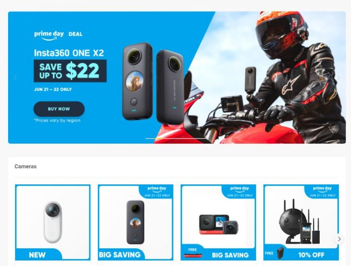 Amazon Prime Day 2021 – Best deals on 360 cameras and accessories