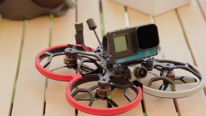 GepRC Cinelog 30 cinewhoop weighs under 250 grams with naked GoPro but there's a catch