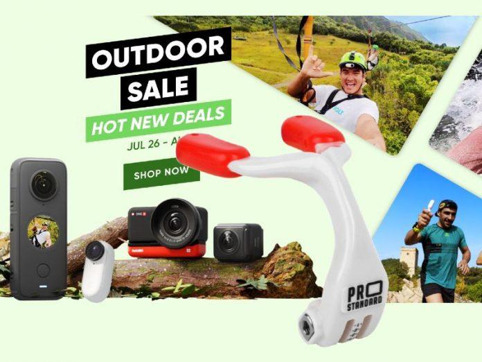 Insta360 discounts in Summer Outdoor Sale; plus some new accessories