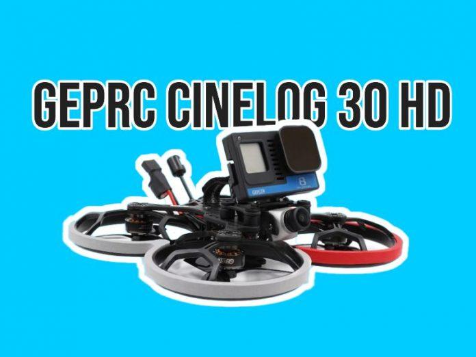 New cinewhoop teased: GepRC Cinelog 30 HD